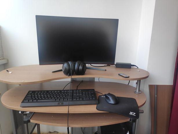 Игровой компьютер с монитором и всей периферией
