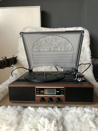 Gramofon w stylu retro NOWY