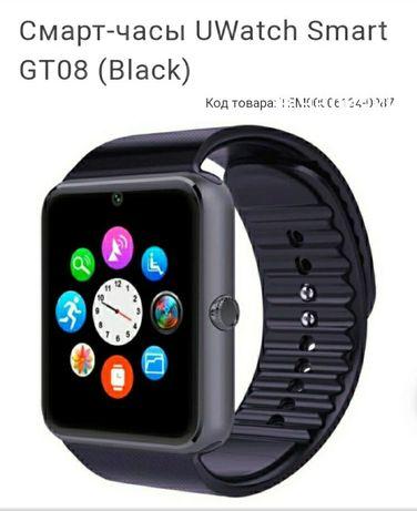 Часы-телефон Смарт Часы умные часы Smart Watch GT-08 Bluetooth АКЦИЯ