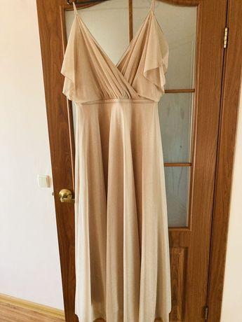Нарядное праздничное платье 40р