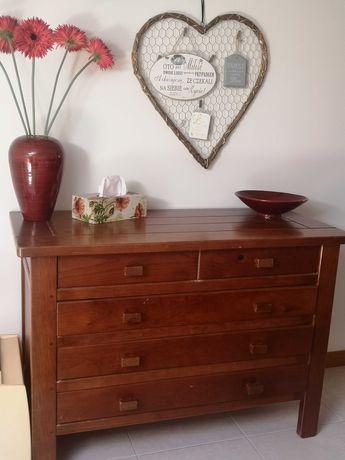 Conjunto de móveis de Quarto Roupeiro, armário, cômoda