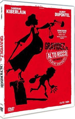 """Filme em DVD: Gravidez de Alto Risco """"9 Mois Ferme"""" - NOVO! SELADO!"""