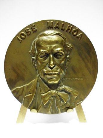 Medalha em bronze José Malhoa