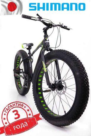 """3 цвета Фэтбайк-Горный велосипед """"S800 HAMMER EXTRIME"""" Колёса 24,26''"""