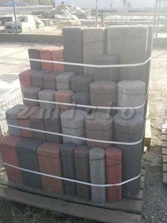 Palisady betonowe okrągłe i kwadratowe