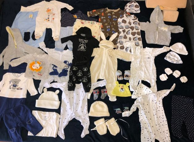 Клёвая одежда для новорожденных 0-5 мес + позиционер + коконы + муфта