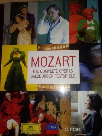 Mozart The Complete Operas Salzburger Festspiele dvd Deutsche Grammoph