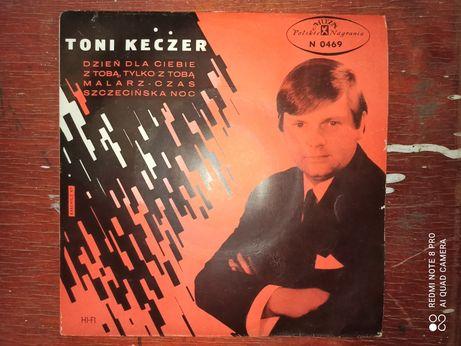 Toni Keczer - Dzień dla Ciebie oraz zespół Czerwono-Czarni winyl M45