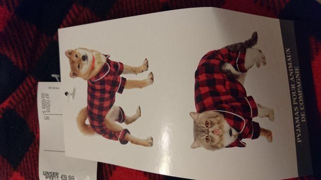 Ubranko dla psa lub kota xs cieplusie