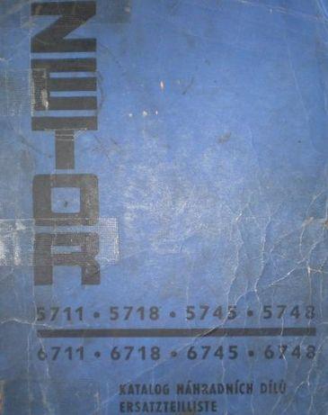 Zetor 5711, 5718, 5745, 5748, 6711, 6718, 6745, 6748 katalog części