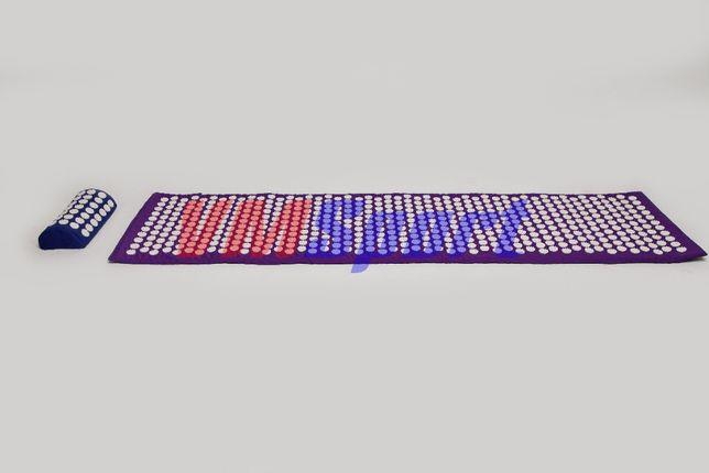 Большой аппликатор массажный коврик Кузнецова с иглами для спины\ног