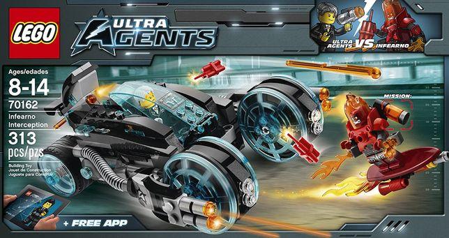 Lego City Ultra Agents 70162 Infearno Interception Kabriolet agenta.