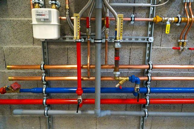 Hydraulik, usługi hydrauliczne, ogrzewanie podłogowe, pompa ciepła