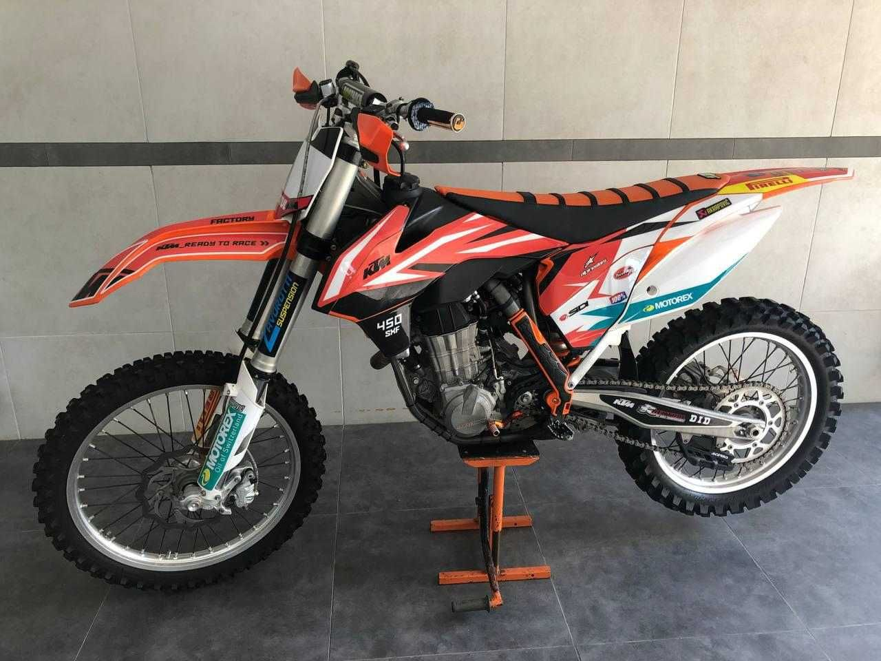 Кроссовый мотоцикл КТМ 450 SX-F