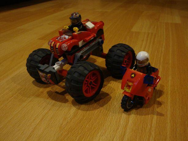 Lego samochód z motorkiem