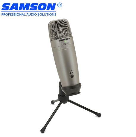 Новый конденсаторный USB микрофон Samson C01U Pro /творчество/подкасты