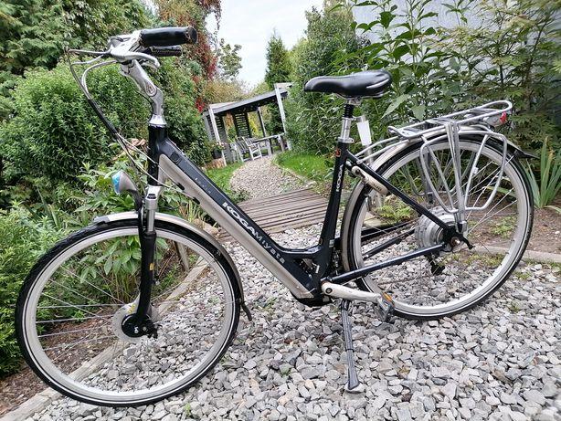"Holenderski rower elektryczny marki Koga Tesla 28"" Super Stan!"