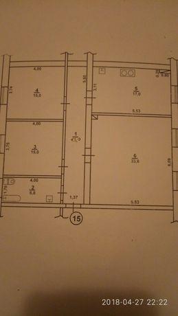 Продам квартиру под ремонт 100.4 кв. общ. площади ТОРГ