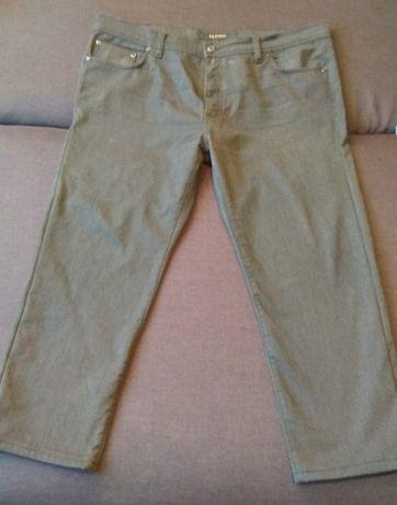 Джинсы брюки теплые большого размера w44 Le Gutti утепленные