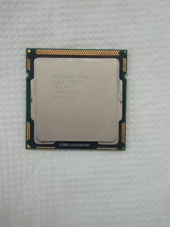 Процессор рабочий Intel core i3 550 3,2 GHz 1156 4 потока