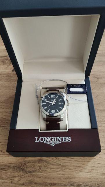 Новогодний подарок!  Мужские часы LONGINES Conquest (L3.659.4.58.3)