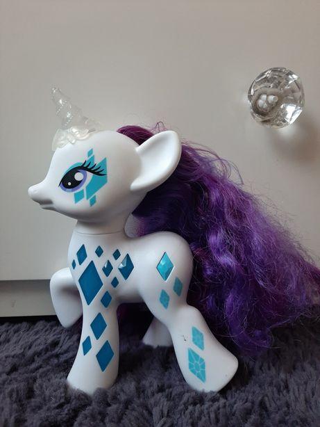Świecący oryginalny kucyk Rarity - My Little Pony. Tanio, wysyłam.