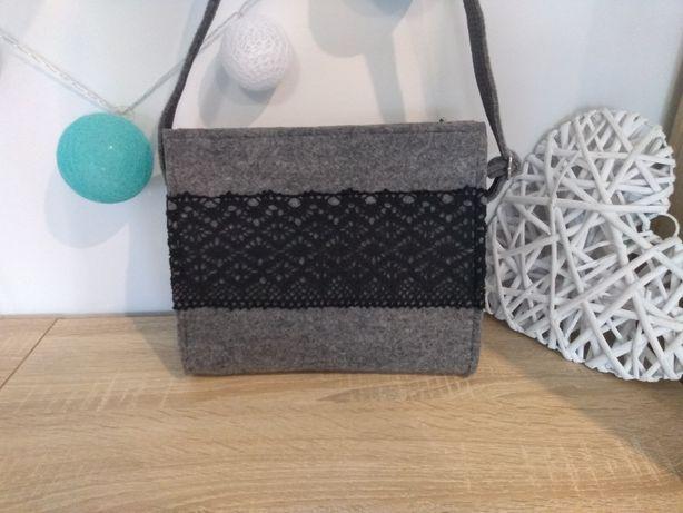 Listonoszka/torebka na ramię handmade a5