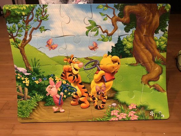 Disney puzzle piankowe duże