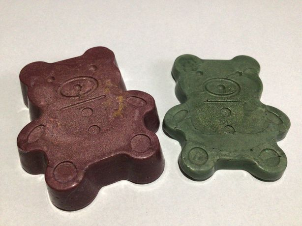zestaw wlasnorecznie robionych wosków do kominków