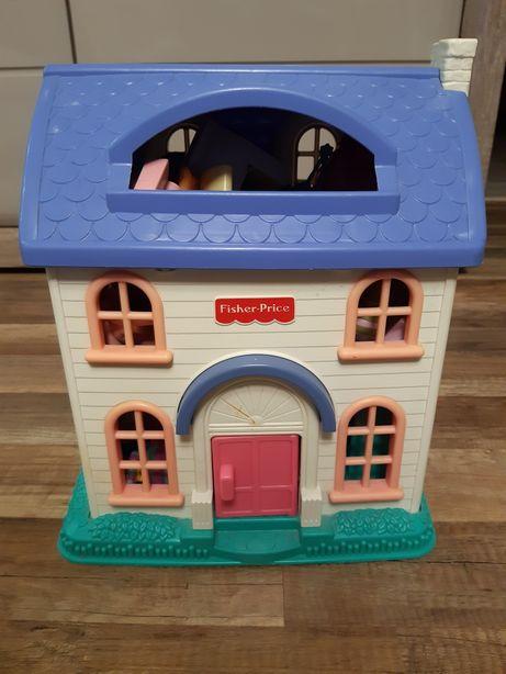 Domek Fisher Price +zabawki