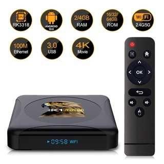 Box Android TV 4 Gb RAM 32 Gb ROM