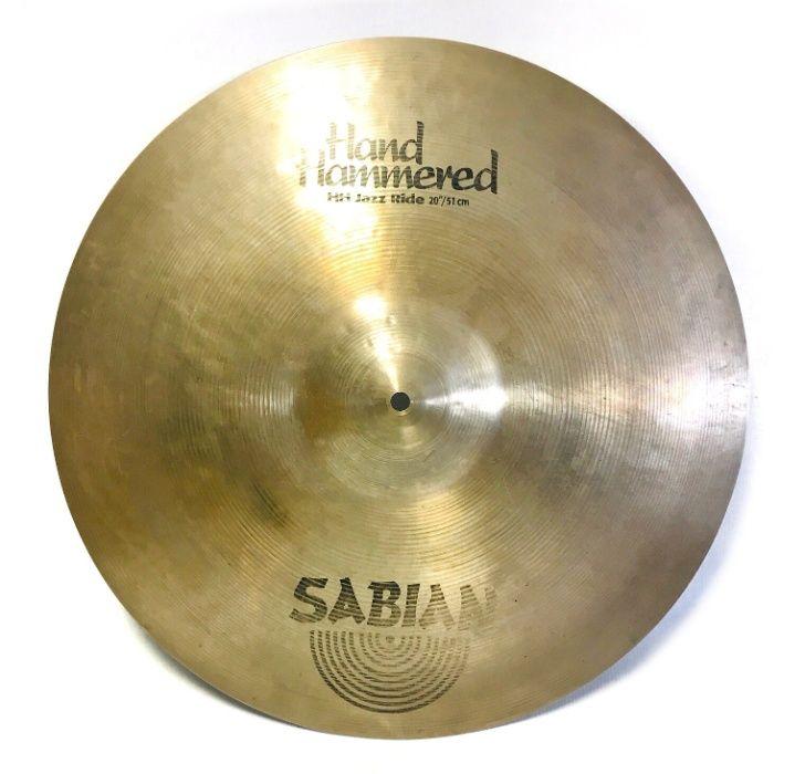 Sabian - Hand Hammered Jazz Ride 20'' używany Poznań - image 1