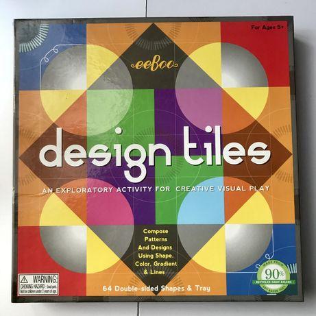 Design tiles kreatywna układanka kształty
