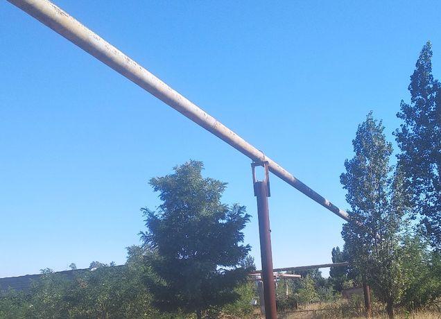 продам трубу 273 была под газом толщина стенки 10 милиметров в земле н