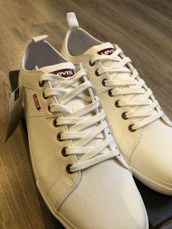 Levis brillant white Comfort Footbed tenisówki 45 30 cm