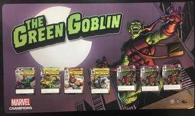 "Mata do gry ""Marvel Champions"" Green Goblin Promo nowa"