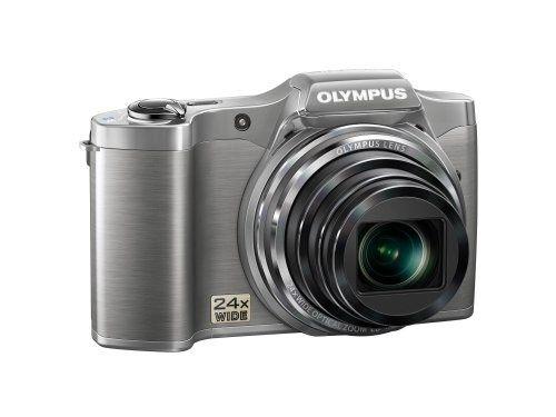 Olympus srebrny aparat cyfrowy