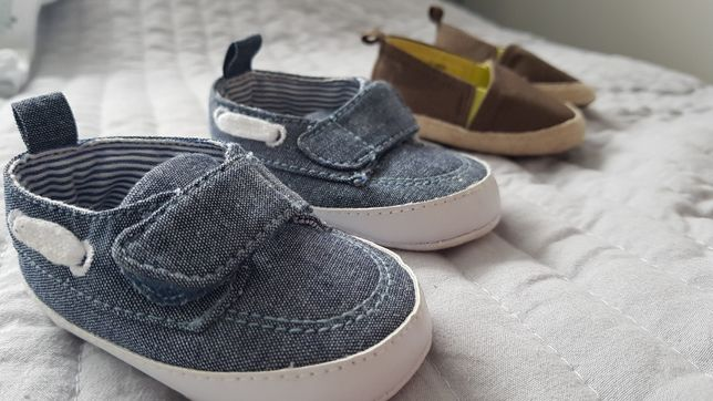 Buciki chłopięce 2 pary H&M, PRIMARK