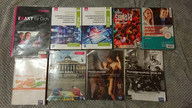 Książki klasa 1 technikum liceum
