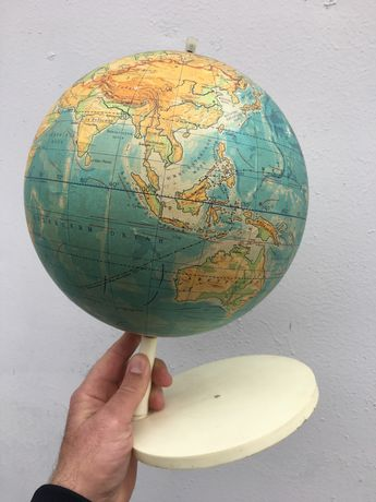 Глобус школьный советский