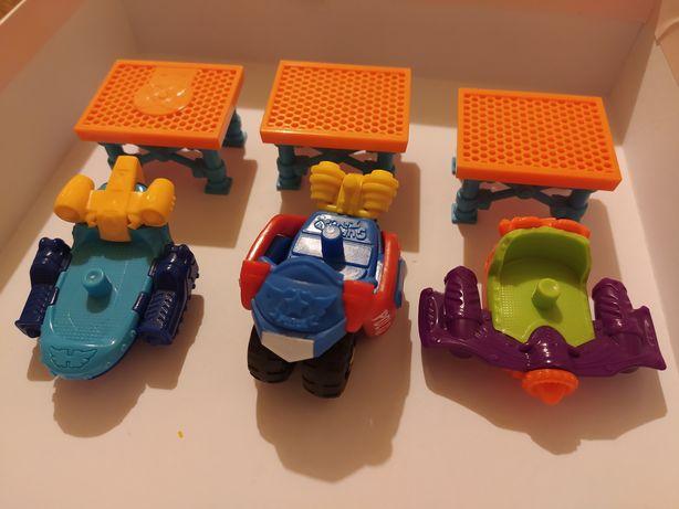 Pojazdy super zings + wieża