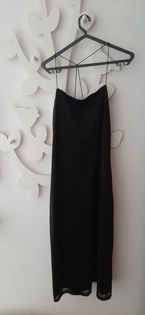 Vestido preto alças fininhas