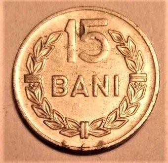 15 бань (Румыния) 1966 / 15 bani (Romania) 1966