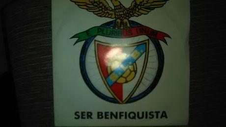 """Vinil single Benfica """"SER BENFIQUISTA"""" 1986"""