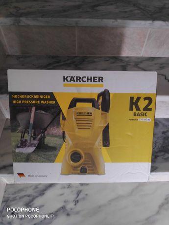 Máquina de pressão Karcher K2 nova, fechada em caixa ainda
