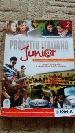 """Książka do Włoskiego ,,Progetto Italiano junior"""""""