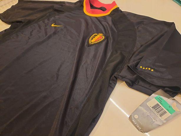 Camisola Nike Seleção Belgica. Nova com etiquetas. Ano 2000