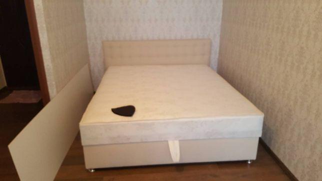Двуспальная кровать Аня с матрасом.Распродажа