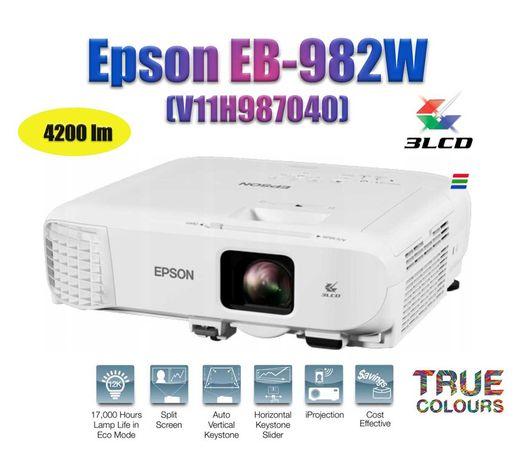 Проектор  Epson EB-982W (V11H987040) 3LCD WXGA 4200lm