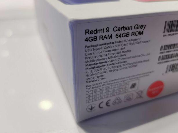 Telefon Xiaomi Redmi 9 wersja 64Gb/4Ram